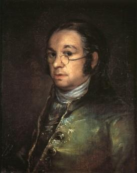 Goya autorretrato museo Castres