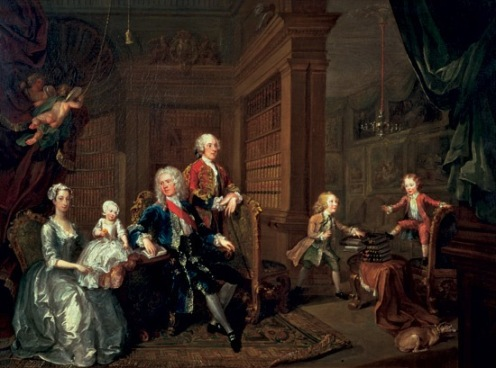 william hogarth the cholmondely family 1732 (1)