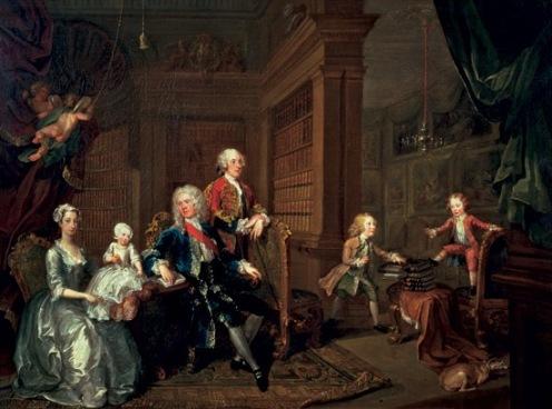 william hogarth the cholmondely family 1732 (1)
