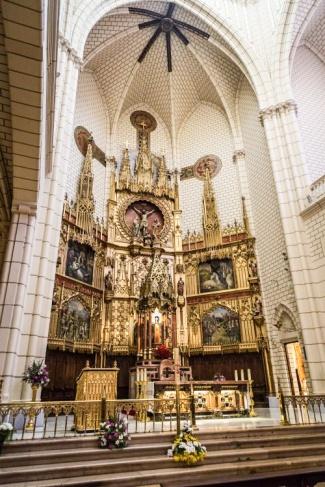 Iglesia de la Santa Cruz. Madrid, España.