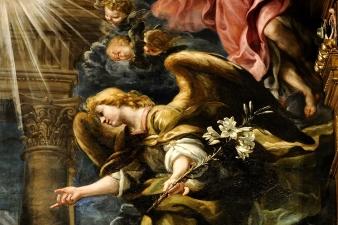 Arcángel Gabriel (detalle). Foto: Blog De Rebus Matritensis