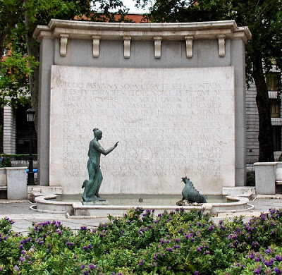 Monumento a Eugenio D'Ors. Foto: Blog esmadridnomadriz