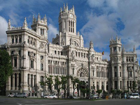 Palacio de Comunicaciones. Foto propia