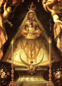 Virgen de Atocha. Foto: Blog De Rebus Matritensis