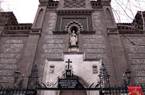 Detalle de puerta de acceso y hornacina. Foto: mapio.net