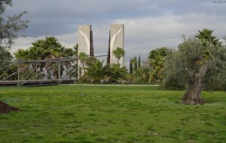 Entrada al Jardín. Foto: Madrid en foto