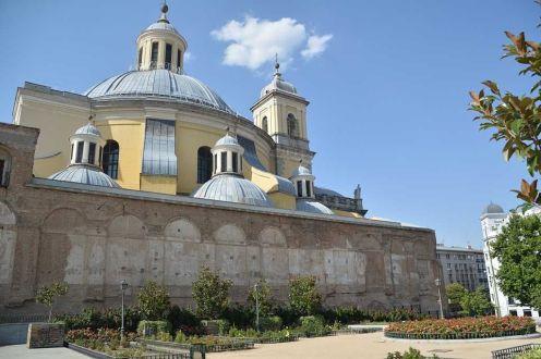 Vista hacia la basílica. Foto: Mirador Madrid