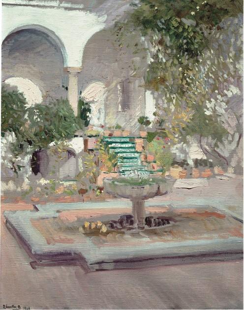 El grutesco, Alcázar de Sevilla. 1910