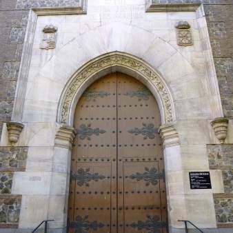 Puerta de acceso. Foto: Wikipedia