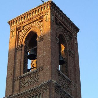 Torre campanario (detalle). Foto: flickriver.com
