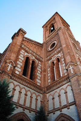 Exterior de la iglesia (detalle). Foto: Pasión por Madrid