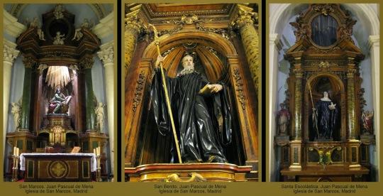 1419 4 Juan Pascual de Mena-SanMarcos,San Benito y Sta Escolastica-Igl San Marcos Madrid