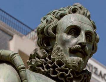 Cervantes (detalle)