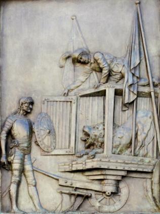 Escena del Quijote. Foto: De rebus matritensis