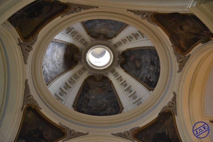 Crucero. Detalle cúpula. Foto: madrida360.es