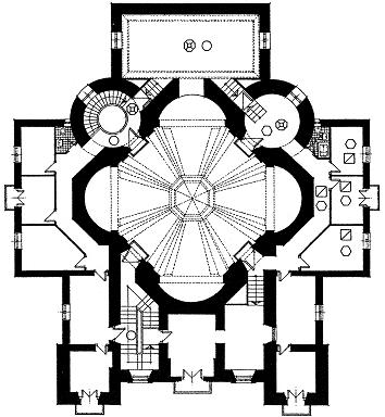 Planta de la ermita. Fuente: Monumentamadrid