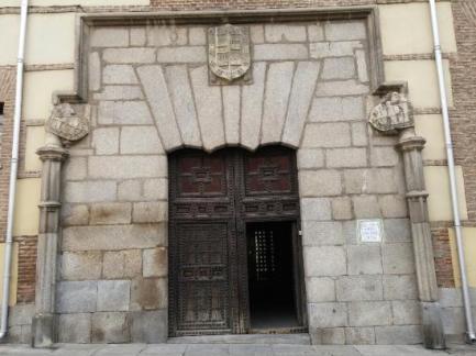Puerta principal. Casa de los Lujanes.