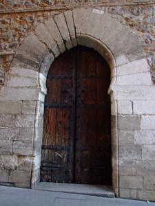 Portada de la Torre de los Lujanes