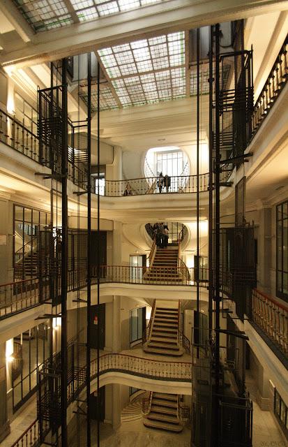 Interior. Casa Matesanz. Foto: Madrid en foto
