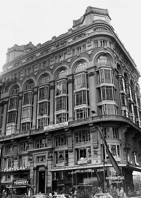 Casa Matesanz. Foto: Memoria de Madrid