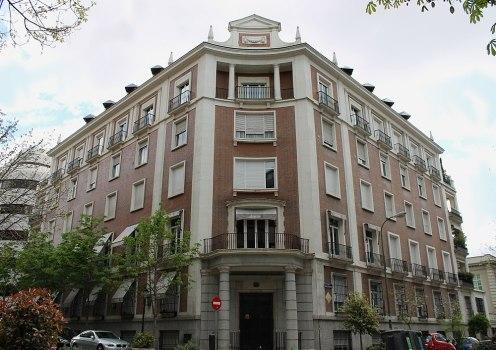 Vivienda en calle Padilla. Foto: Wikipedia