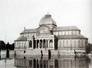 Palacio de Cristal. Foto: viejo-madrid.es