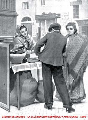 GRABADO CASTAÑERA 1899 AEI