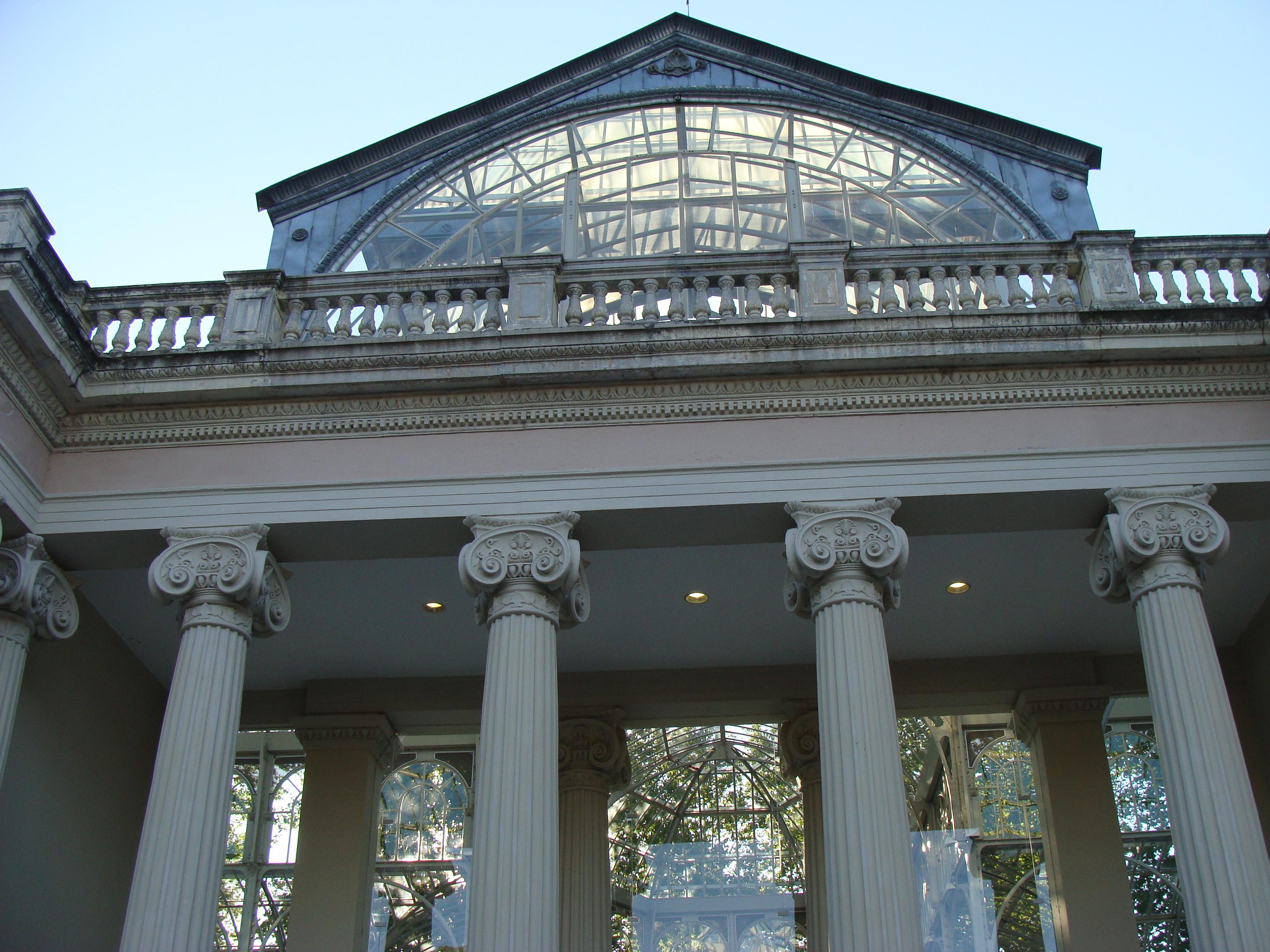 Arquitectura del hierro en madrid el palacio de cristal - Fabricas de cristal en espana ...