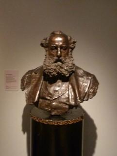 Busto de Ignacio Bauer. Foto: sfarad.es