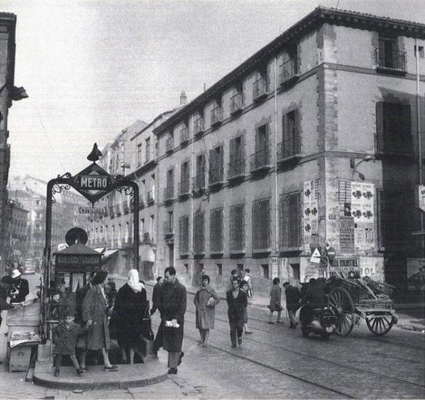 Palacio Bauer (años 50). Foto: Caminando por Madrid