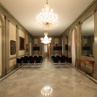 Galería Romana. Foto: Madrid en foto.