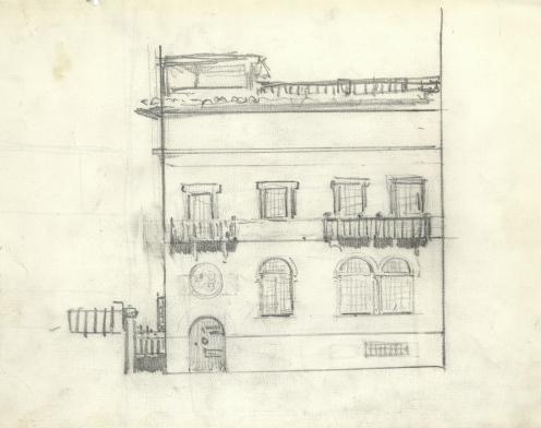 Dibujo de la Casa. Foto: mecd.gob.es/msorolla/