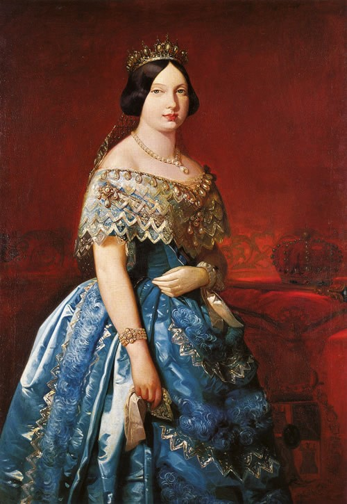 Isabel II. Foto: buzondepinturaporjuanjosebarajas.blogspot.com